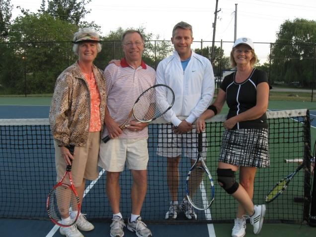 Tournament participants at season opener June 2013